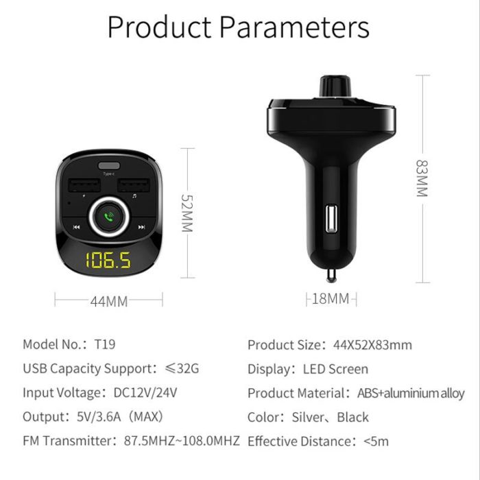 Car Mobile Charger USB Adapter