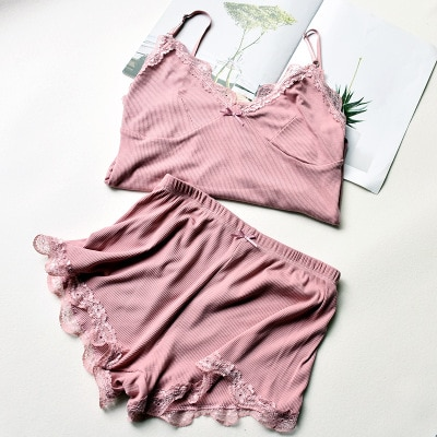 Womens Pyjama Sets Pajama Shorts Nightwear