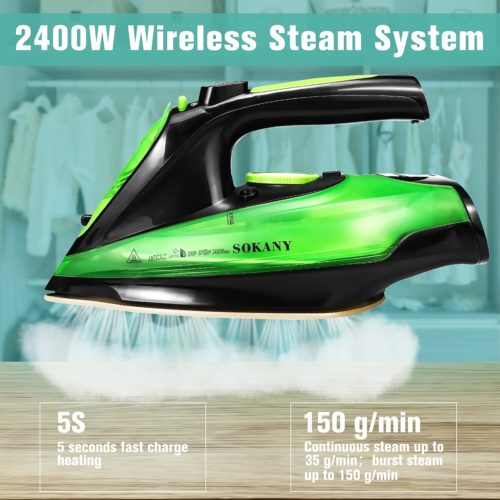 Cordless Iron Portable Clothes Steamer
