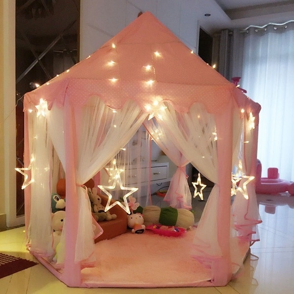 Princess Tent Portable Castle Playhouse