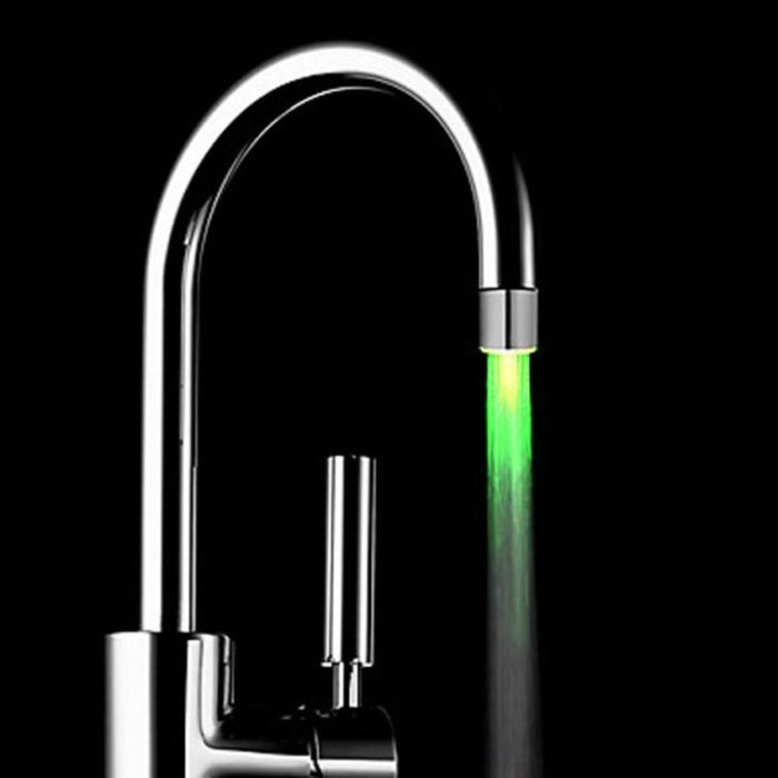 Kitchen Sink Faucets LED Light