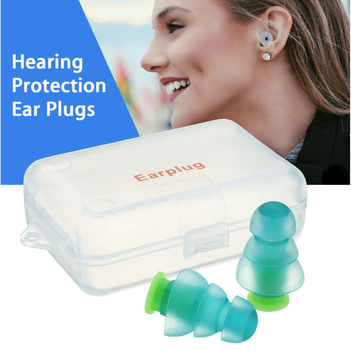 Earplugs For Sleeping Silicone Ear Plugs
