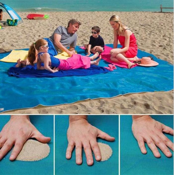 Beach Mat Sand-Proof Design