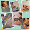 Scratchboard Art Paper Cards