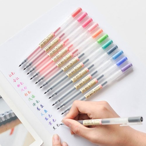 Colored Pens 12pcs Gel Ink Pens