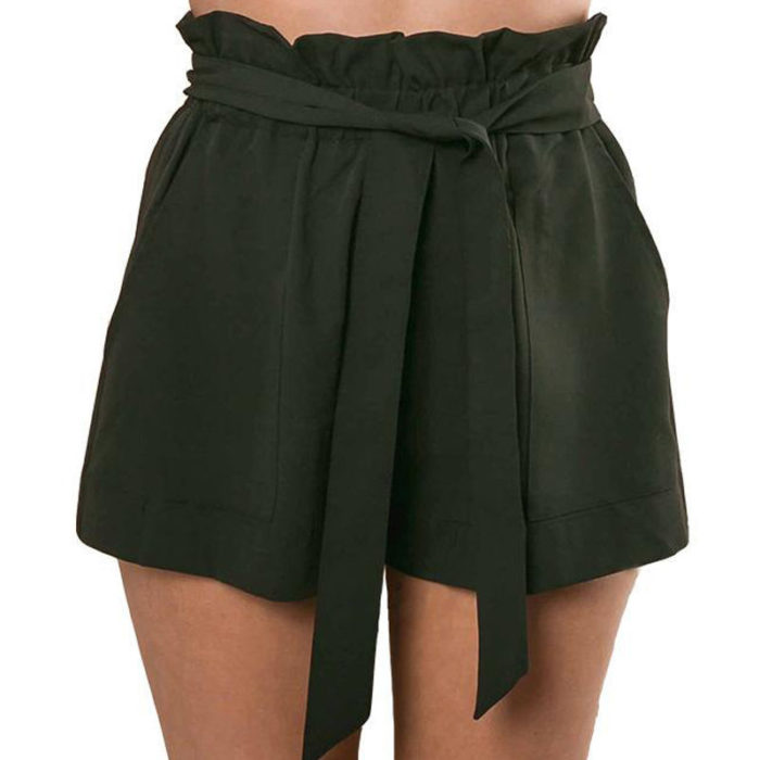 Ladies Shorts High Waist Short