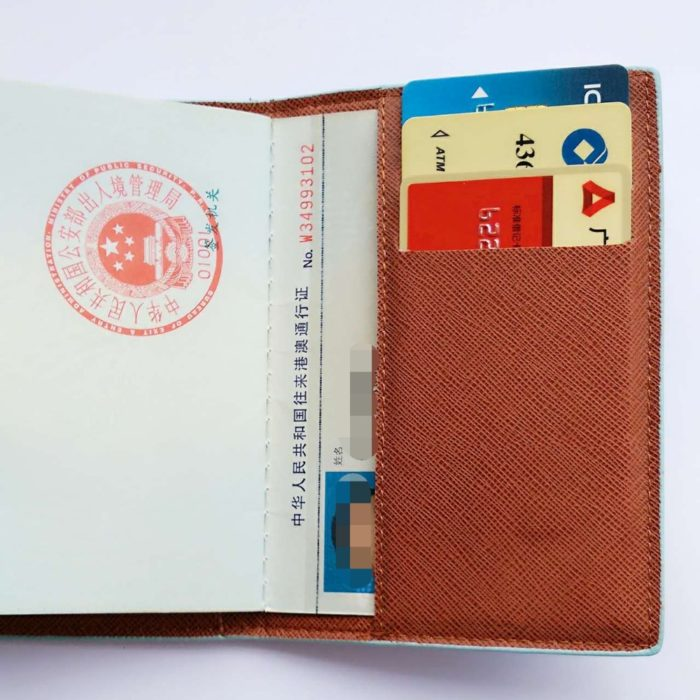 Passport Case Cute Leather Cover