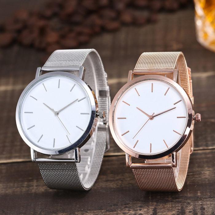 Simple Watch Unisex Fashion Accessory