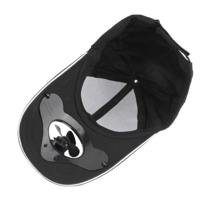 Fan Hat Solar Powered Cap