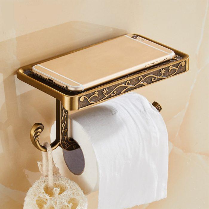 Bathroom Rack Toilet Paper Holder
