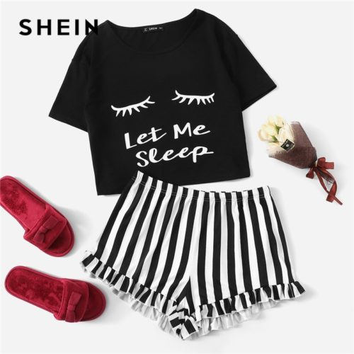 Cute Pajamas Sleepwear Set