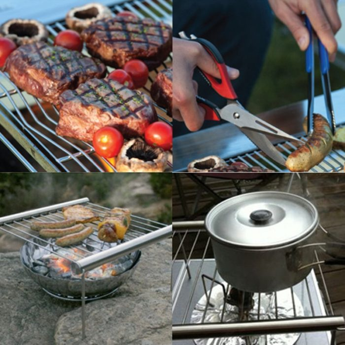 Stainless Steel Grill Portable BBQ