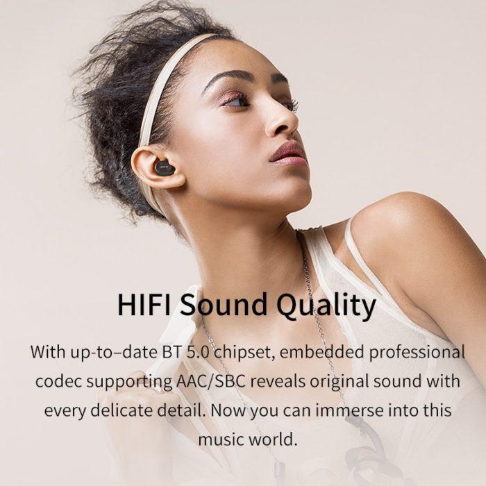 True Wireless Earbuds Audio Player