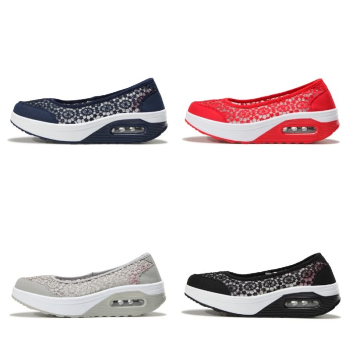 Slip On Shoes Mesh Breathable Footwear