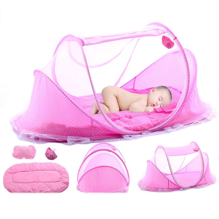 Portable Crib Baby Travel Bed
