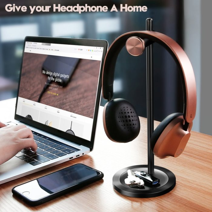 Headphone Holder Desktop Stand Hanger
