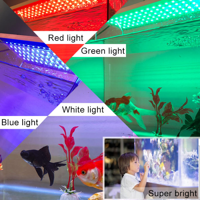 LED Fish Tank Lights Aquarium Lamp
