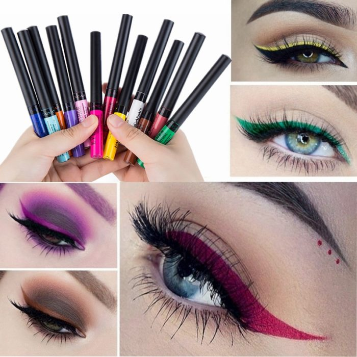 Colored Eyeliner Waterproof Matte Finish