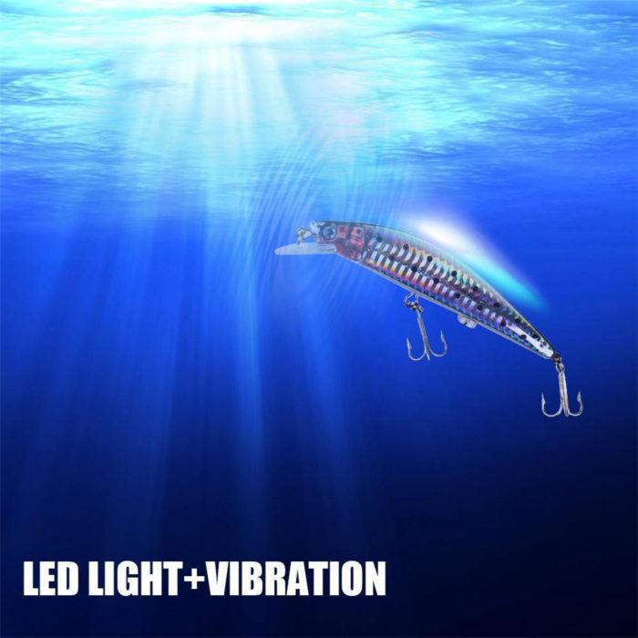Fishing Lures LED Electric Life-Like Bait
