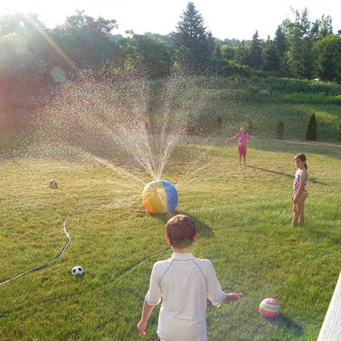 Inflatable Ball Water Spray Toy
