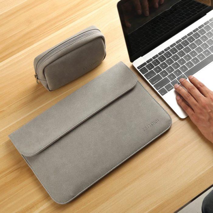 Leather Laptop Bag Sleeve