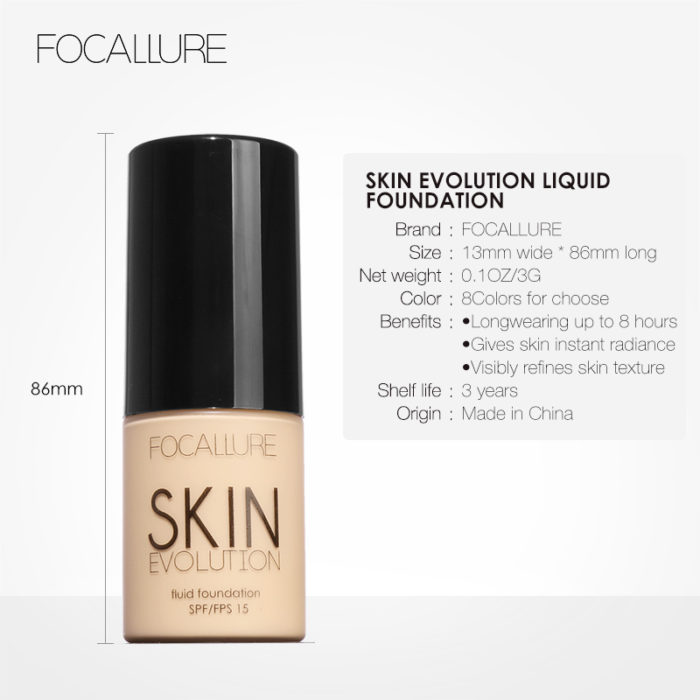 Foundation Makeup Oil Control Liquid