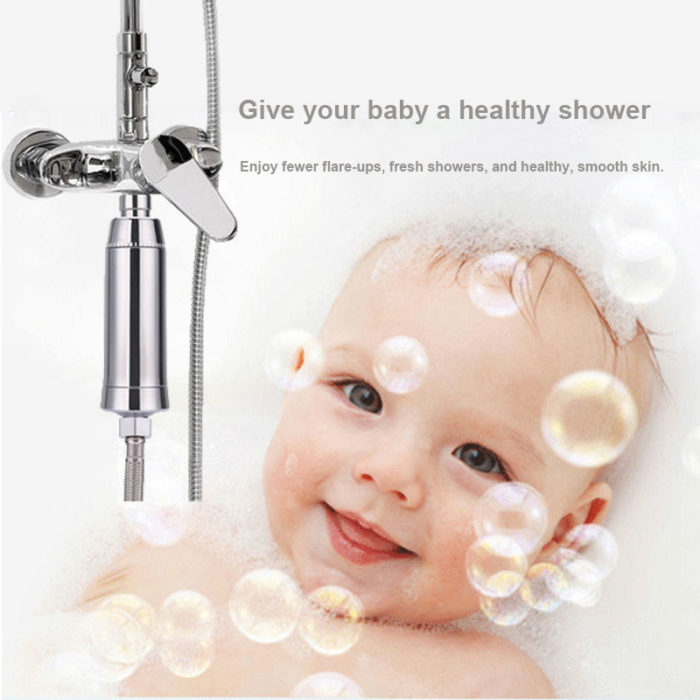 Water Softener Shower Filter
