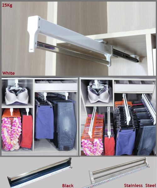 Pull Out Shelves Closet Hanger