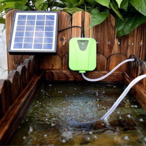 Aquarium Air Pump Solar Oxygenator