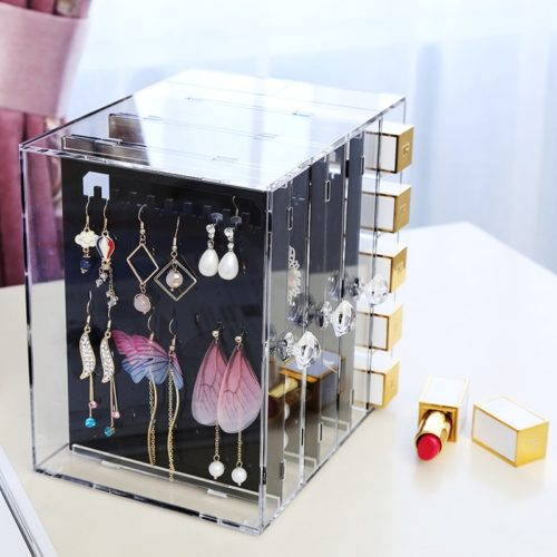 Earring Organizer Acrylic Rack Box