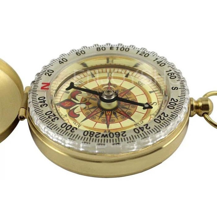 Copper Pocket Navigation Compass