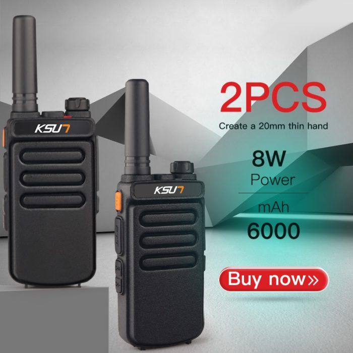 2 Way Radios Wireless Walkie Talkie