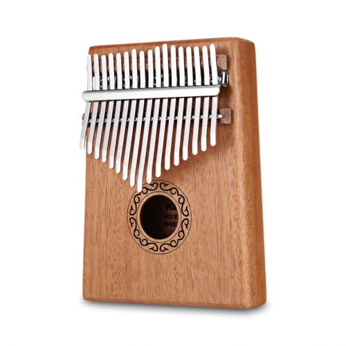 Thumb Piano 17-Key Wooden Kalimba