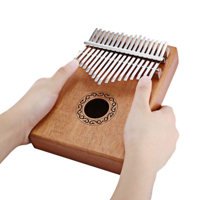 Thumb Piano 17-Key Wooden Kalimba