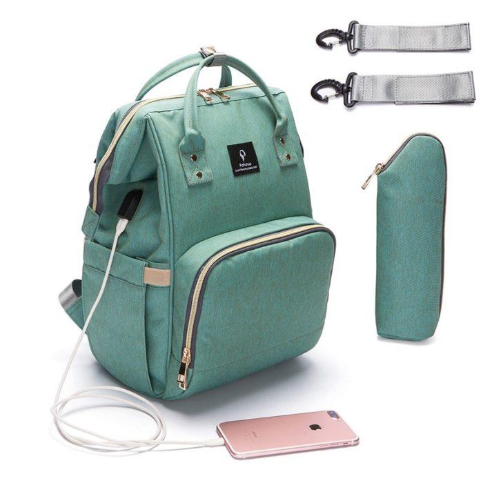 Baby Diaper Bag Waterproof Backpack