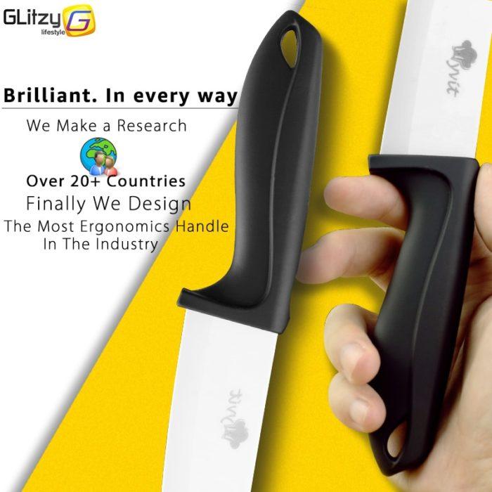 Kitchen Knife Set Ceramic Cutter