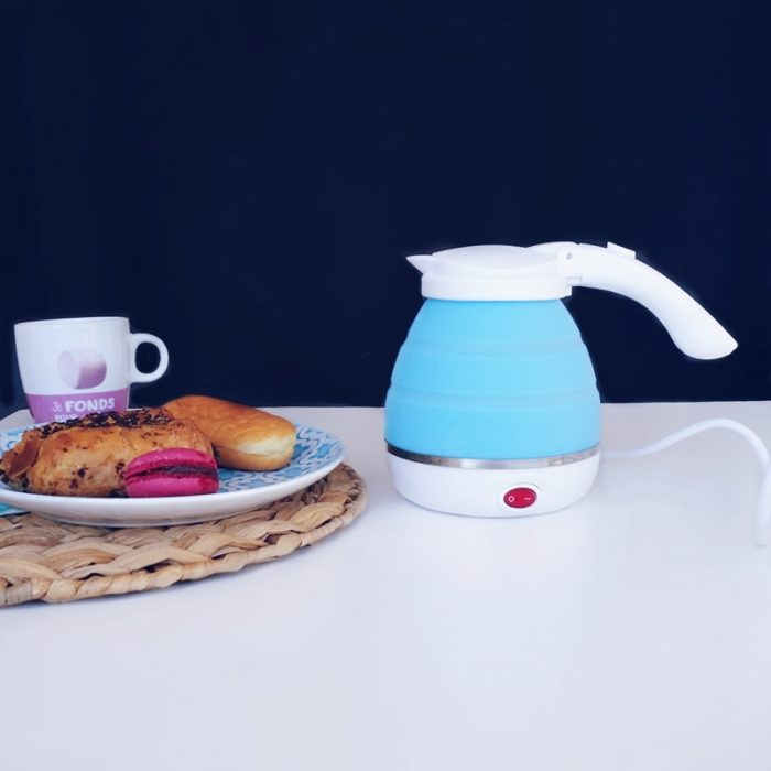 Electric Water Kettle Foldable Silicone