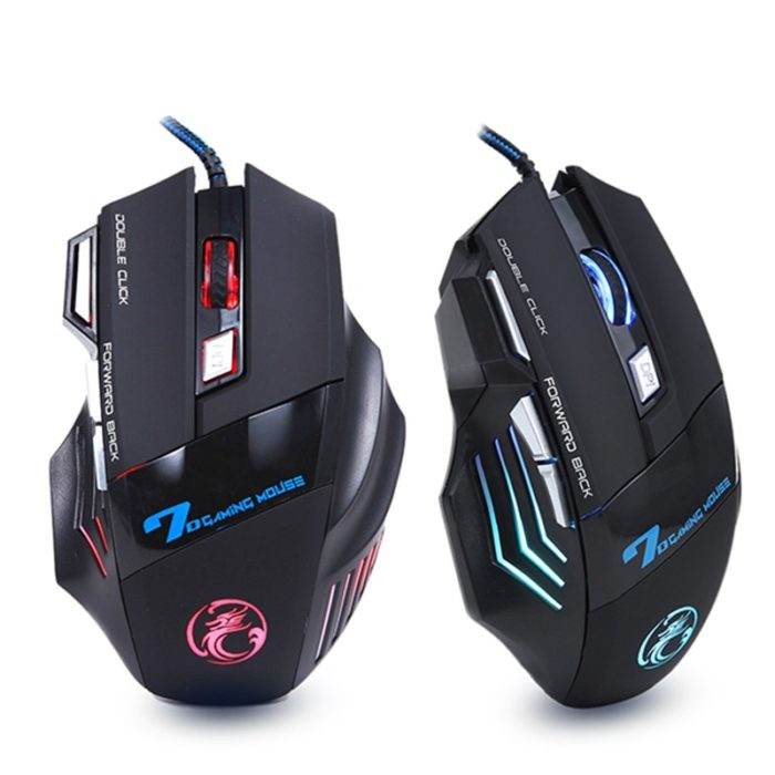 Wired Gaming Mouse Led Optical USB