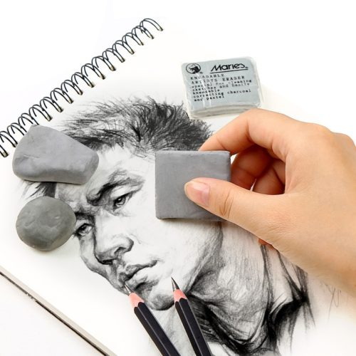 Kneaded Eraser Soft Rubber Drawing Tool