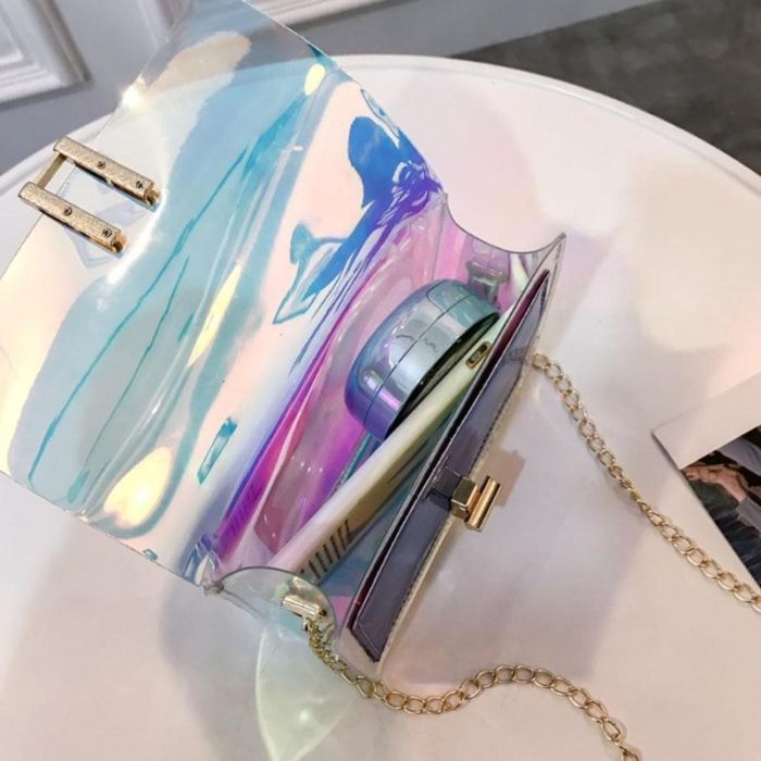 PVC Jelly Mini Crossbody Bags for Women