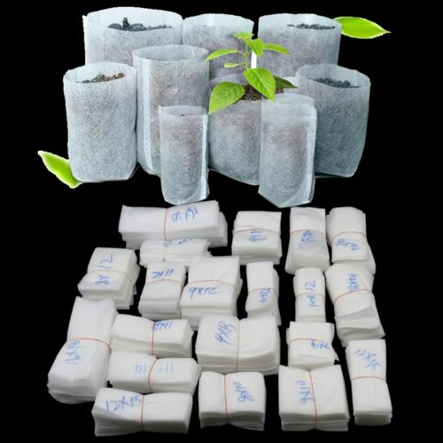 100PC Non-Woven Grow Biodegradable Bags