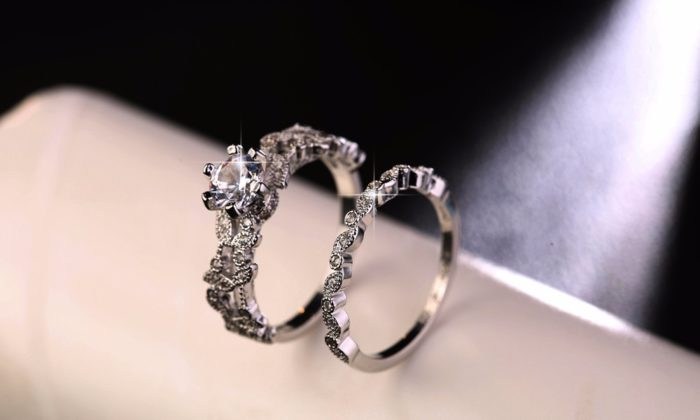 Ring Set Luxury 925 Silver