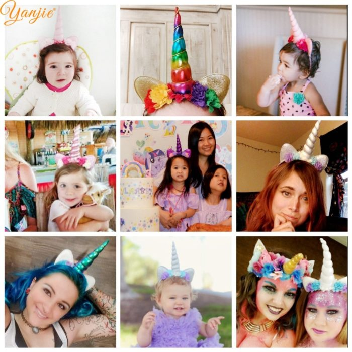 Unicorn Headband Kids Hair Accessories