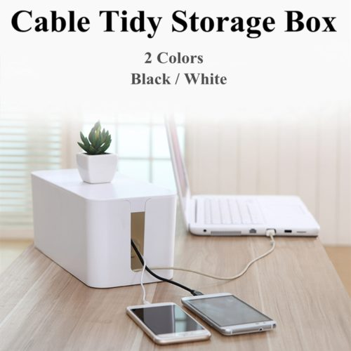 Cable Box Stylish Cord Organizer