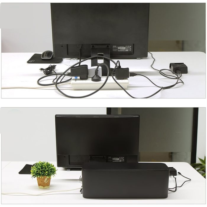 Cable Box Stylish Cord Organizer