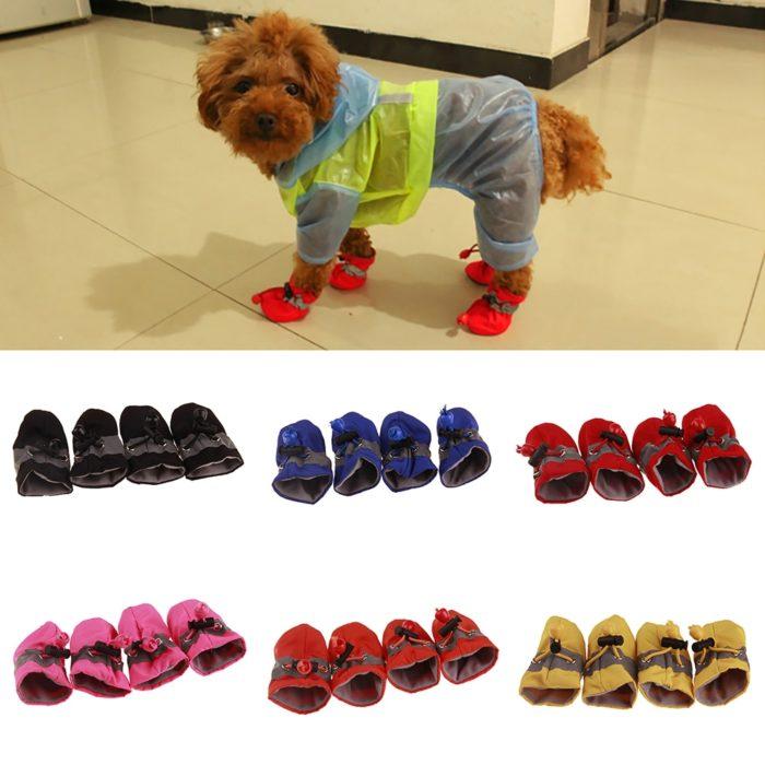 Dog Shoes Anti-Slip Waterproof Set