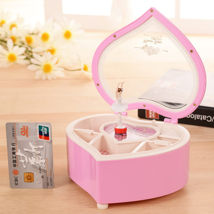 Ballerina Music Box Jewelry Container
