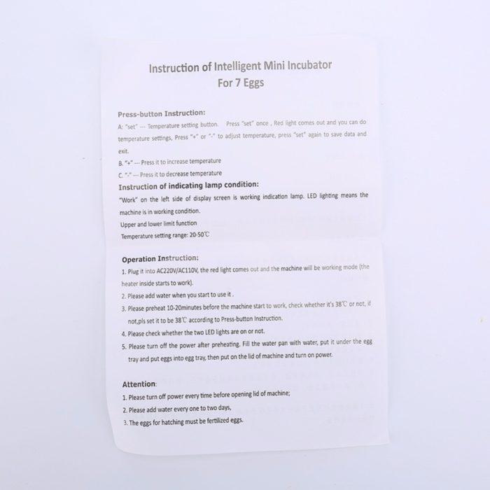 Egg Incubator Farm Brooder Kit