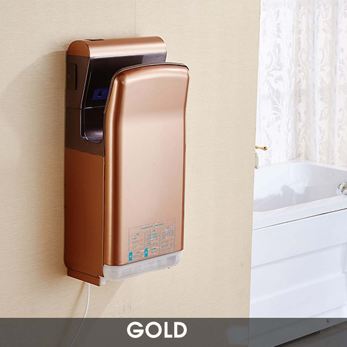 Hand Dryer Automatic Drying Machine Life Changing Products