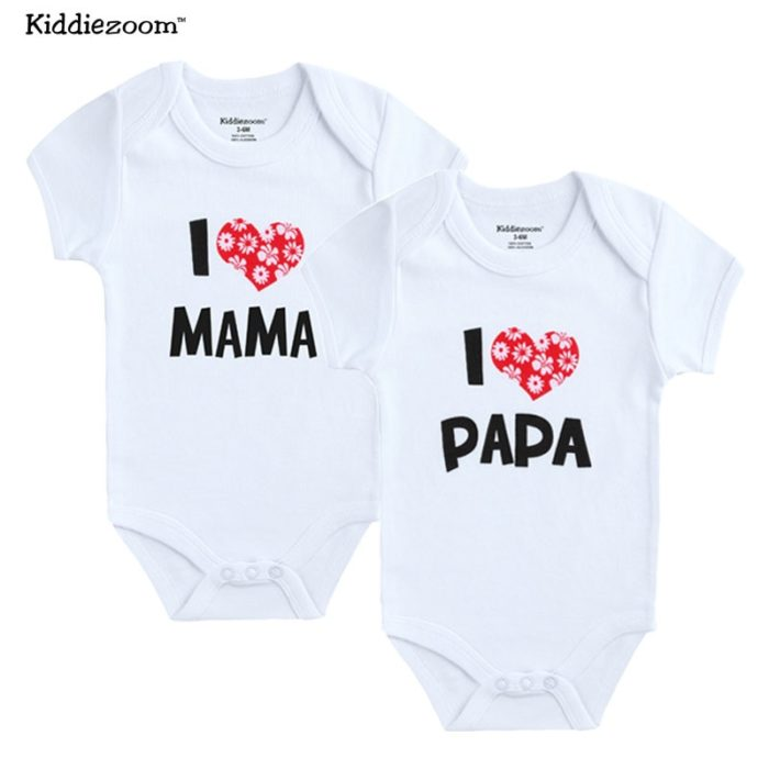 Newborn Baby Clothes 2Pcs Cute Rompers